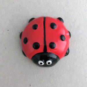 MOSAIC INSPIRATION Ceramic Ladybird Ceramic Ladybug Ceramic Mosaic Tile Mosaic Inserts www.mosaicinspiration.com