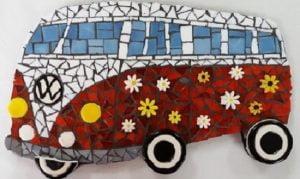 MOSAIC INSERTS Kombi flowers Mosaic Tiles www.mosaicinspiration.com