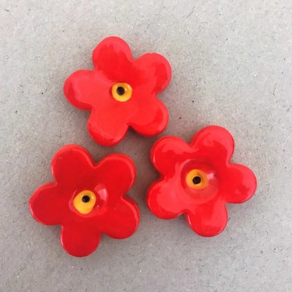 Mosaic Inserts Mosaic Flowers Ceramic Flowers Ceramic Mosaic Tile www.mosaicinspiration.com