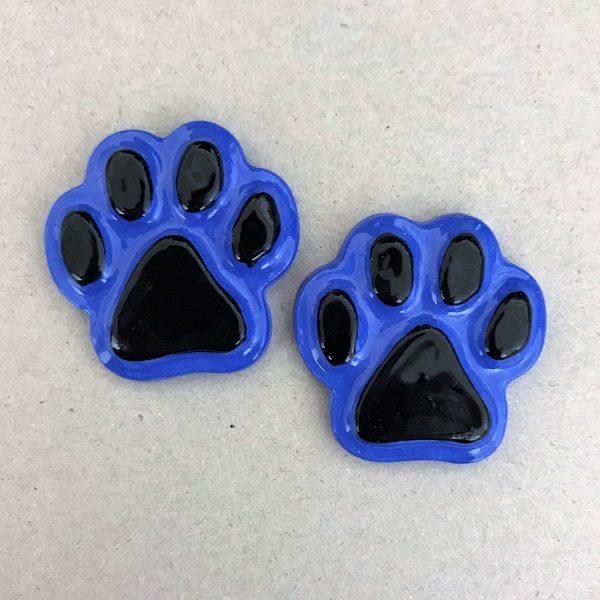 MOSAIC INSPIRATION Ceramic Paws Cat Paws Dog Paws Ceramic Mosaic Tiles Mosaic Insert www.mosaicinspiration.com