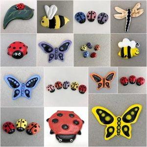 Ladybirds, Butterflies, Bugs