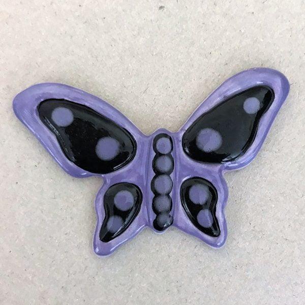 Ceramic Butterfly Mosaic Tile Mosaic Inserts www.mosaicinspiration.com