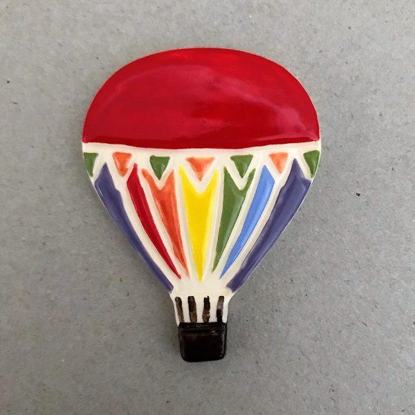 MOSAIC INSPIRATION Ceramic Mosaic Inserts Ceramic Hot Air Balloon www.mosaicinspiration.com