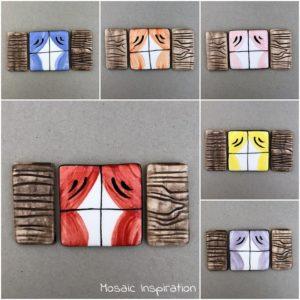 MOSAIC INSPIRATION Ceramic Window Ceramic Shutters Mosaic Inserts Mosaic Tiles www.mosaicinspiration.com