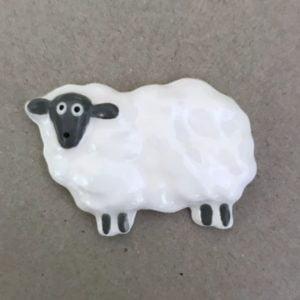 MOSAIC INSPIRATION Ceramic Sheep Mosaic Inserts Ceramic Mosaic Tile www.mosaicinspiration.com