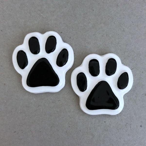 MOSAIC INSPIRATION Ceramic Paws Cat Paws Dog Paws Ceramic Mosaic Inserts www.mosaicinspiration.com