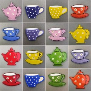 Teapots, cups, mugs
