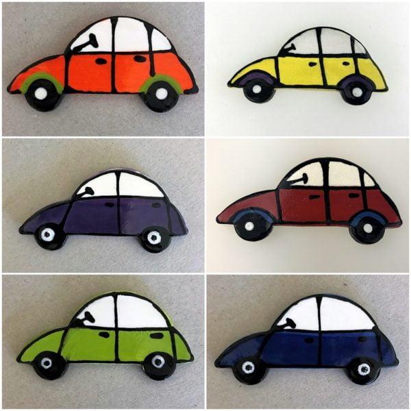 MOSAIC INSPIRATION Ceramic Car Ceramic VW Beetle Mosaic Inserts Mosaic Tile www.mosaicinspiration.com