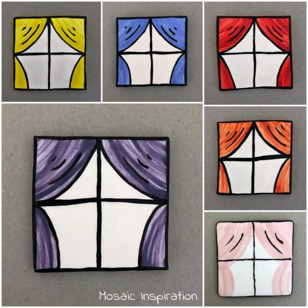 MOSAIC INSPIRATION Ceramic Window Mosaic Inserts Mosaic Tile www.mosaicinspiration.com