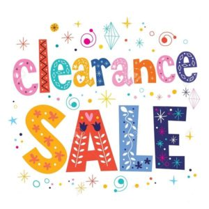 !! CLEARANCE SALE !!