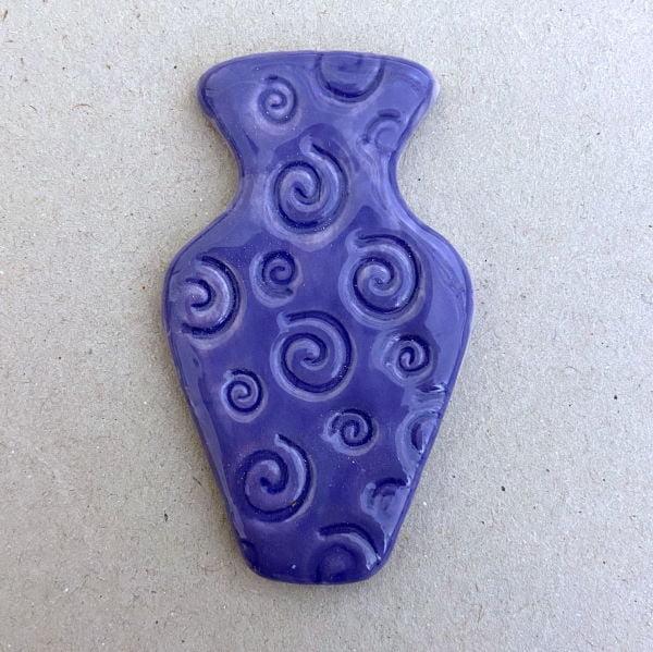MOSAIC INSPIRATION Ceramic Vase 65x40mm Ceramic Insert Mosaic Inserts Mosaic Tiles www.mosaicinspiration.com
