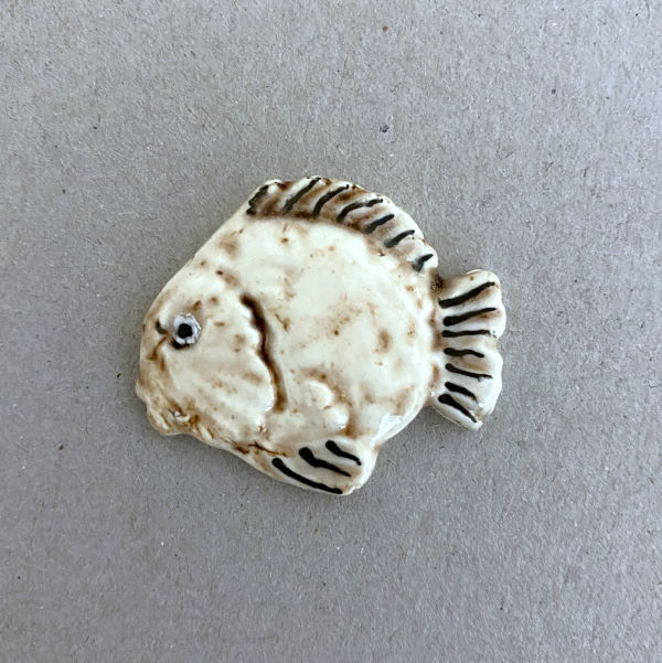 MOSAIC INSPIRATION Ceramic Fish 30x35mm Ceramic Mosaic Inserts www.mosaicinspiration.com