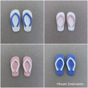 MOSAIC INSPIRATION Ceramic Flip Flops Ceramic Thongs Ceramic Slops Ceramic Jandals Ceramic Inserts Mosaic Inserts www.mosaicinspiration.com