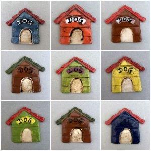 MOSAIC INSPIRATION Ceramic DogHouse Mosaic Inserts Ceramic Inserts Mosaic Tiles www.mosaicinspiration.com